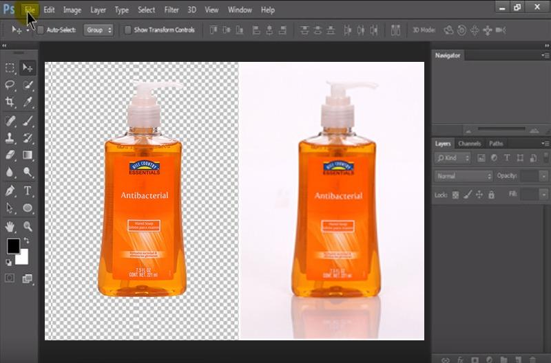 How To Cutout Images into White Background in Photoshop | Clipping Path