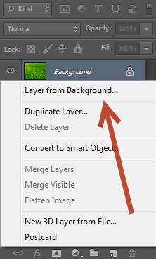 Remove the Original Layer