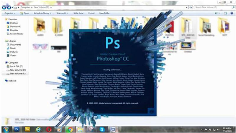 Open The Image On Photoshop