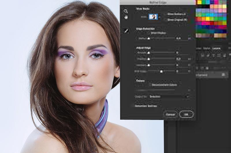 How to Get Refine Edge in Photoshop CC