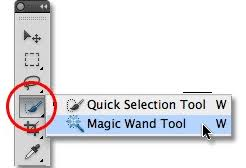 Use Magic Wand Tool to Make Background Transparent in Photoshop