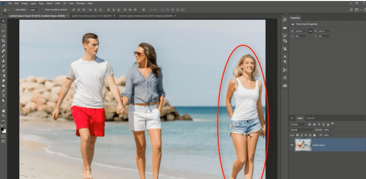 How to Remove an Object in Photoshop CS6