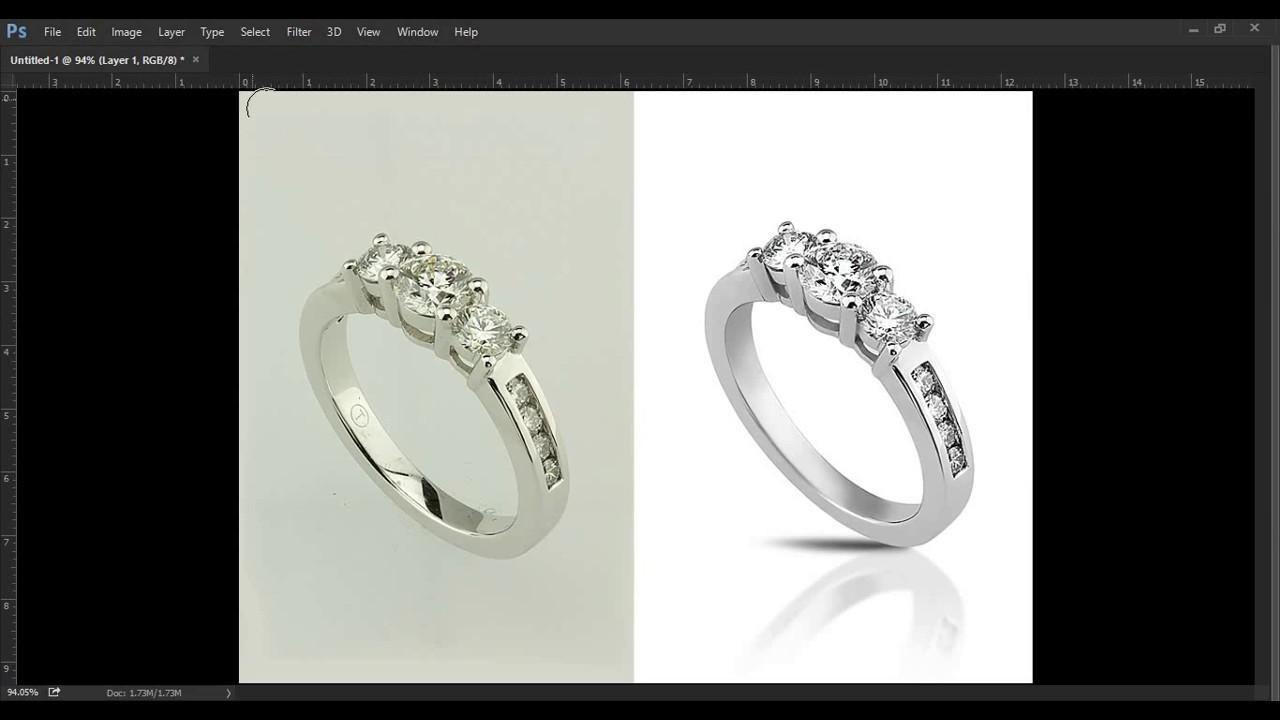 Types of Editing tools used in Jewelry Photo Retouching On Photoshop