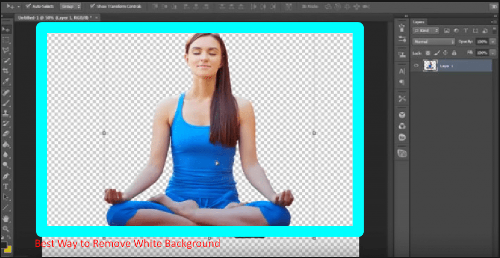 Best way to remove the white background